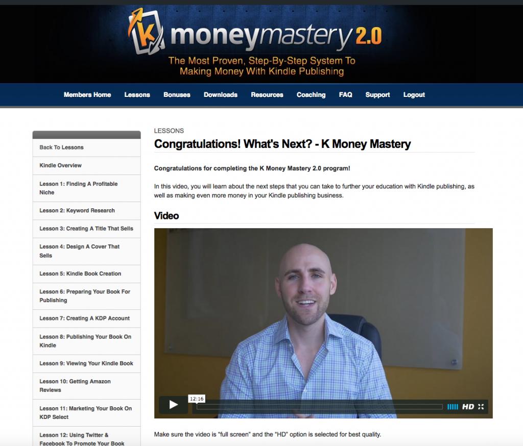 k money mastery