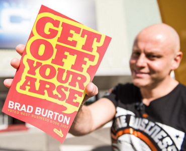 Get Off Your Arse By Brad Burton – Book Review